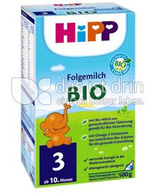 Produktabbildung: Hipp Folgemilch Bio 3 500 g