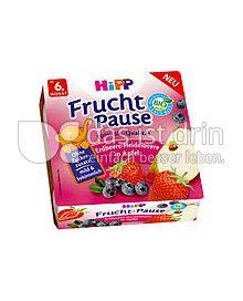 Produktabbildung: Hipp Frucht-Pause Erdbeer-Heidelbeere in Apfel 400 g
