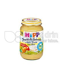 Produktabbildung: Hipp Frucht & Getreide Apfel-Traube mit Reis 190 g