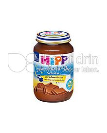 Produktabbildung: Hipp Gute-Nacht-Brei Grießbrei Schoko 190 g