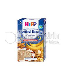Produktabbildung: Hipp Gute-Nacht-Brei Banane mit Vollwertflocken 250 g