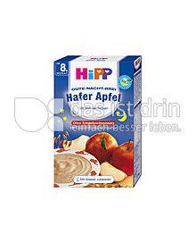 Produktabbildung: Hipp Gute-Nacht-Brei Hafer Apfel mit Vollwertflocken 250 g
