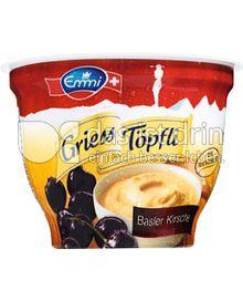 Produktabbildung: Emmi Griess Töpfli Basler Kirsche 175 g