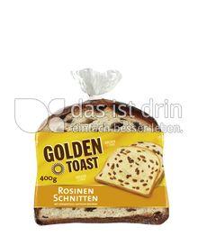 Produktabbildung: GOLDEN TOAST Rosinenschnitten 400 g