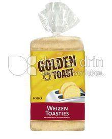 Produktabbildung: GOLDEN TOAST Toasties Weizen 300 g