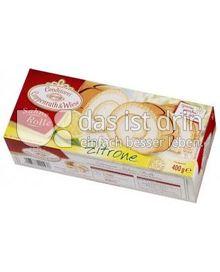 Produktabbildung: Conditorei Coppenrath & Wiese Sahne Rolle Zitrone 400 g