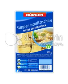 Produktabbildung: Bürger Suppenmaultaschen 300 g