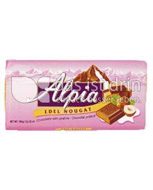 Produktabbildung: Alpia Edel-Nougat Tafelschokolade 100 g