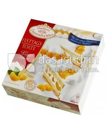 Produktabbildung: Conditorei Coppenrath & Wiese Festtagstorte Käse-Sahne 1400 g