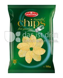 Produktabbildung: Wurzener Kartoffelchips fein gesalzen 150 g