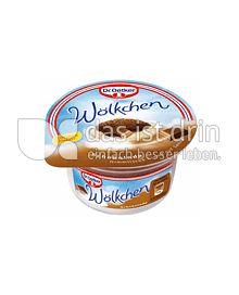 Produktabbildung: Dr. Oetker Wölkchen Klassische Schokolade 125 g