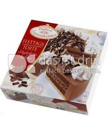 Produktabbildung: Conditorei Coppenrath & Wiese Festtagstorte Schokoladen-Sahne 1400 g
