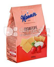 Produktabbildung: MANNER Erdbeer Joghurt Waffeln 200 g