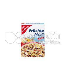 Produktabbildung: Gut & Günstig Früchte Müsli 750 g
