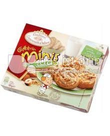 Produktabbildung: Conditorei Coppenrath & Wiese Cafeteria Minis Nuss-Schnecken 185 g