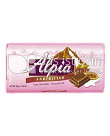 Produktabbildung: Alpia Zartbitter 100 g