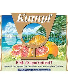 Produktabbildung: Kumpf Direktsaft Pink Grapefruit 1 l