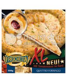 Produktabbildung: Freschetta XL Pizza Quattro Formaggi 495 g
