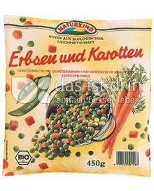 Produktabbildung: Naturkind Erbsen und Karotten 450 g