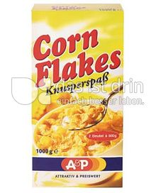 Produktabbildung: A&P Cornflakes 1000 g