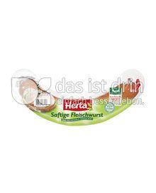 Produktabbildung: Herta Saftige Fleischwurst 500 g