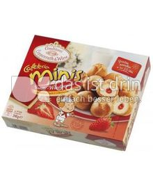 Produktabbildung: Conditorei Coppenrath & Wiese Cafeteria Minis Vanille-Windbeutel 240 g