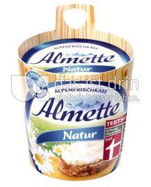 Produktabbildung: Almette Alpenfrischkäse Natur 150 g
