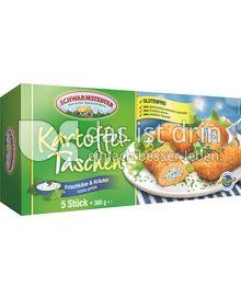 "Produktabbildung: Schwarmstedter Kartoffel-Taschen ""Frischkäse & Kräuter"" 300 g"