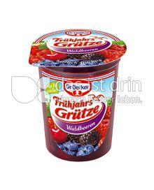 Produktabbildung: Dr. Oetker Rote Grütze herrlich fruchtig 500 g