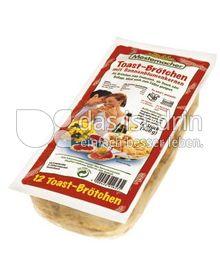 Produktabbildung: Mestemacher Toast-Brötchen 360 g