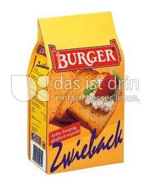 Produktabbildung: Burger Zwieback 225 g