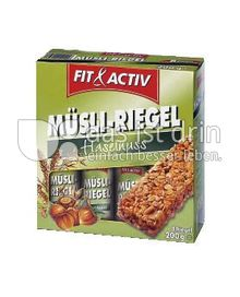 Produktabbildung: Fit & Activ Müsli-Riegel 200 g