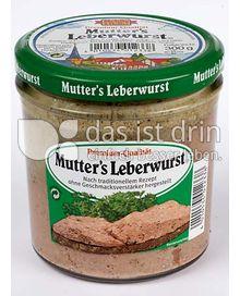 Produktabbildung: Mehlig & Heller Mutters Leberwurst 300 g