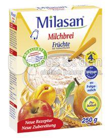 Produktabbildung: Milasan Milchbrei Früchte mit Vollkornflocken 250 g