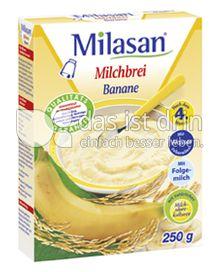 Produktabbildung: Milasan Milchbrei Banane 250 g