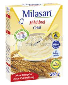 Produktabbildung: Milasan Milchbrei Grieß 250 g