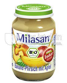 Produktabbildung: Milasan Banane-Pfirsich mit Apfel 190 g