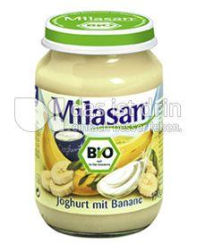 Produktabbildung: Milasan Joghurt mit Banane 190 g