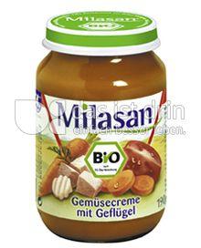 Produktabbildung: Milasan Gemüsecreme mit Geflügel 190 g