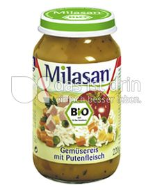 Produktabbildung: Milasan Gemüsereis mit Putenfleisch 220 g