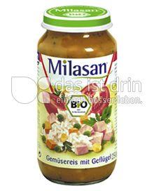Produktabbildung: Milasan Gemüsereis mit Geflügel 250 g