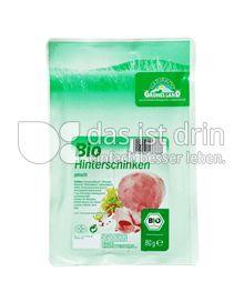 Produktabbildung: Grünes Land Bio Hinterschinken 80 g