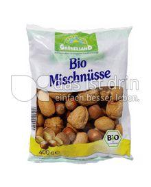 Produktabbildung: Grünes Land Bio Mischnüsse 400 g