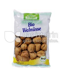 Produktabbildung: Grünes Land Bio Walnüsse 400 g