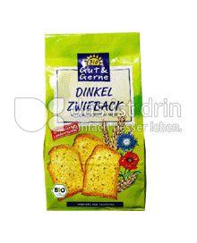 Produktabbildung: Gut & Gerne Dinkel Zwieback 200 g