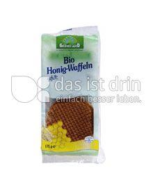 Produktabbildung: Grünes Land Bio Honig Waffeln 175 g
