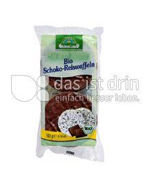 Produktabbildung: Grünes Land Bio Reiswaffeln Schoko 100 g