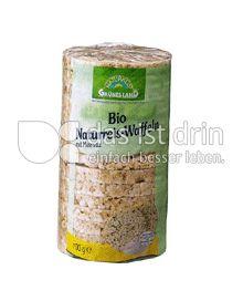 Produktabbildung: Grünes Land Reiswaffeln mit Salz 100 g