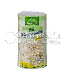 Produktabbildung: Grünes Land Reiswaffeln ohne Salz 100 g
