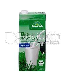 Produktabbildung: Grünes Land Bio H-Vollmilch 1 l